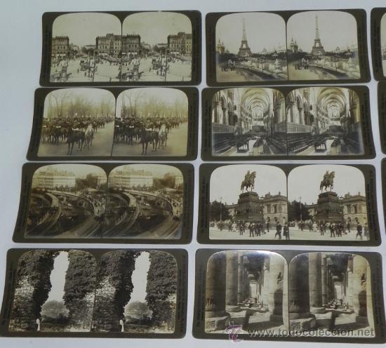 Fotografía antigua: Lote de 12 Antiguas Fotografías, fotografia estereoscópica de distintas ciudades europeas, estereosc - Foto 2 - 35907871