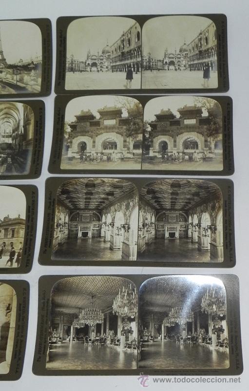 Fotografía antigua: Lote de 12 Antiguas Fotografías, fotografia estereoscópica de distintas ciudades europeas, estereosc - Foto 3 - 35907871