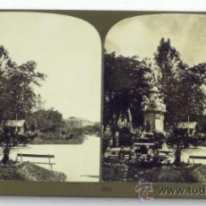 Fotografía antigua: MADRID, SALÓN DEL PRADO, 1903. WHITE CO. 18X9 CM.. Lote 36270278