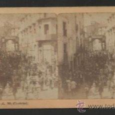 Fotografía antigua: RIPOLL - A.M. CRETONI- ESTEREO- FOTO FERRAN-MED 7X 15 CM-VER FOTOS ADIC.-(F-354). Lote 36620134