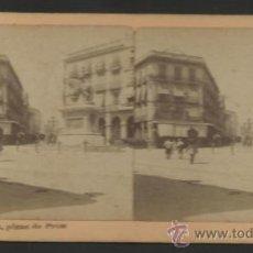 Fotografía antigua: REUS -PLAZA DE PRIM -ESTEREO FOTO FERRAN - MED.7 X 15 CM- VER FOTOS ADIC. - (F-355). Lote 36620166