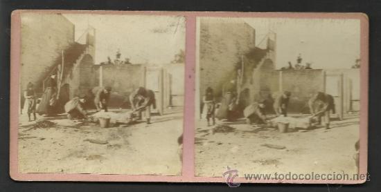 Fotografía antigua: LOTE 4 FOTOS ESTEREOS DE SAN BOY MATANSA DEL PORCH- VER FOTOS ADIC. MED.8X17 CM. - (F-345) - Foto 4 - 36617042