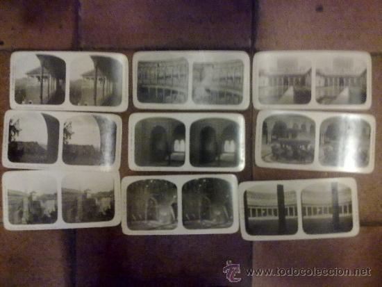 Fotografía antigua: Colección completa de 24 estereoscópicas del Turismo práctico. Granada y alhambra 17 x 8 cm. - Foto 2 - 36868513