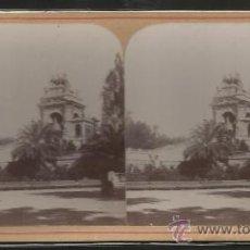Fotografía antigua: BARCELONA - FOTO ESTEREOSCOPICA - (F-363). Lote 37493534