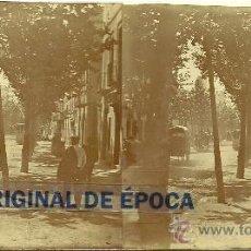 Fotografía antigua - (ES-722)FOTOGRAFIA ESTEREOSCOPICA DE BARCELONA-TRANVIA - 38094009