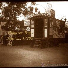 Fotografía antigua: CARROMATO DEL DIBUJANTE BON - BARCELONA - 1920'S - POSITIVO DE VIDRIO. Lote 38130073