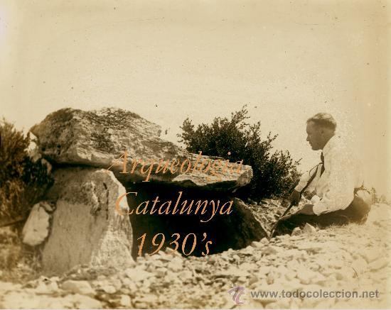 ARQUEOLOGIA - CATALUNYA - 1930'S - POSITIU DE VIDRE (Fotografía Antigua - Estereoscópicas)