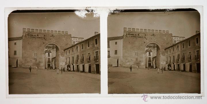 Fotografía antigua: Localización desconocida, 1915s. Cristal positivo estereo 6x13 cm. - Foto 2 - 39698698