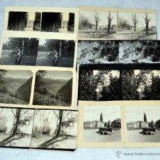 Fotografía antigua: LOTE 8 FOTOS, FOTOGRAFIAS ESTEREOSCOPICAS ORIGINALES. AÑOS 50..PAISAJES ESTEREO... Lote 40072312