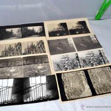Fotografía antigua: LOTE 8 FOTOS, FOTOGRAFIAS ESTEREOSCOPICAS ORIGINALES. AÑOS 50..PAISAJES/RETRATO... Lote 40073396
