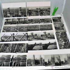 Fotografía antigua: EXCELENTE LOTE DE 15 FOTOGRAFIAS ESTEREOSCOPICAS..BARCELONA 1925..REPRODUCCIONES... Lote 40076546