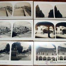 Fotografía antigua: PALMA DE MALLORCA - 14 FOTOGRFIAS ESTEREOSCOPICAS - EL TURISMO PRACTICO - ALBERTO MARTIN 17X9 CM. C. Lote 38239751