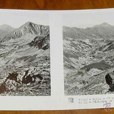 Fotografía antigua: ANTIGUA FOTO ESTEREOSCOPICA DE RIBAS NURIA - GERONA - COLECCION N. 8 - 2ª SERIE ED. RELLEV - N. 15 -. Lote 38251954