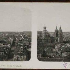 Fotografia antiga: ANTIGUA ESTEREOSCOPIA DE SALAMANCA - N. 1 - VISTA PARCIAL DE LA CIUDAD - ED. EL TURISMO PRACTICO - . Lote 38255662