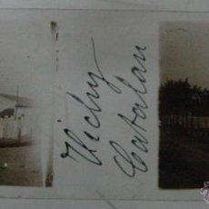 Fotografía antigua: ANTIGUA FOTOGRAFIA ESTEREOSCOPICA DE CRISTAL - VICHY CATALAN, BALNEARIO - CALDES DE MALAVELLA (GIRON. Lote 38260522