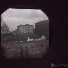 Fotografía antigua: 2 ANTIGUAS FOTOGRAFIAS ESTEREOSCOPICAS DE BILBAO TAMAÑO GRANDE 17X8 CM, HACIA 1920?. Lote 40426762