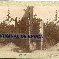 Fotografía antigua: (ES-112)FOTOGRAFIA ESTEREOSCOPICA DE SANTA CREU DE OLERDOLA???. Lote 40695940