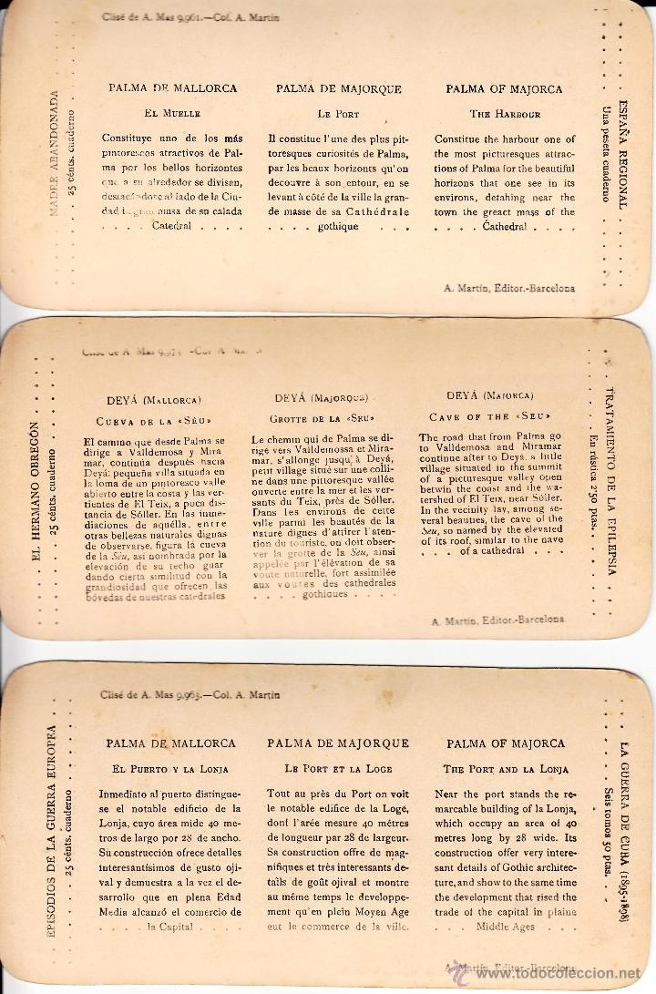 Fotografía antigua: 12 FOTOS ESTEREOSCOPICAS DE MALLORCA-SOLLER-DEYÁ (COLECCIÓN COMPLETA EL TURISMO PRACTICO).18 x 9 cm - Foto 2 - 40851175