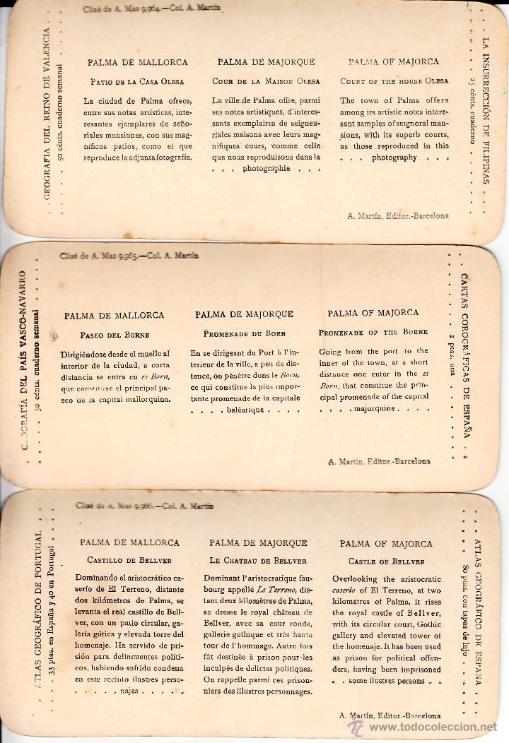 Fotografía antigua: 12 FOTOS ESTEREOSCOPICAS DE MALLORCA-SOLLER-DEYÁ (COLECCIÓN COMPLETA EL TURISMO PRACTICO).18 x 9 cm - Foto 4 - 40851175