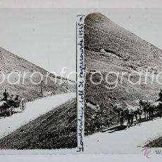 Fotografía antigua: LOUDERVIELLE, PIRINEOS, FRANCIA, 1915'S. CRISTAL POSITIVO ESTEREO 6X13 CM. FXP. Lote 41002786