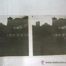 Fotografía antigua: ALHAMA DE ARAGON ZARAGOZA 5 PLACAS DE CRISTAL ESTEREOSCOPICAS HACIA 1910. Lote 41250294
