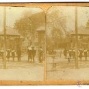 Fotografía antigua: FOTOGRAFIA ESTEREOSCÓPICA (17 X 9 CM.) DE BARCELONA. PARQUE DE LA CIUDADELA. Lote 41369930