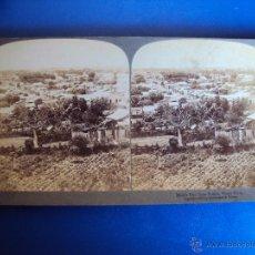 Fotografia antica: (ES-812)FOTOGRAFIA ESTEREOSCOPICA DE LA CIUDAD DE PONCE EN PUERTO RICO. Lote 41755586