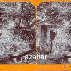 Fotografía antigua: TAVERTET, OSONA, FONT DE RAJOLS, RARISIMA. Lote 42146535