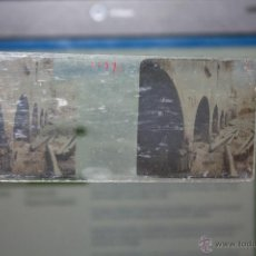 Fotografía antigua: CAJA CON 14 CRISTALES ESTEREOSCOPICOS. Lote 42221724