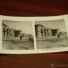 Fotografía antigua: ANTIGUA FOTOGRAFÍA ESTEREOSCÓPICA ROMA. POLICLINICO. 9X18CM. COL.178. NºII. Lote 42667730