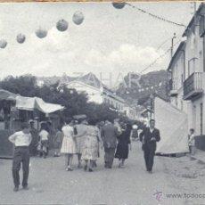 Fotografía antigua: UBRIQUE, CADIZ, EL PUEBLO EN FIESTAS, RARISIMA. Lote 43997202