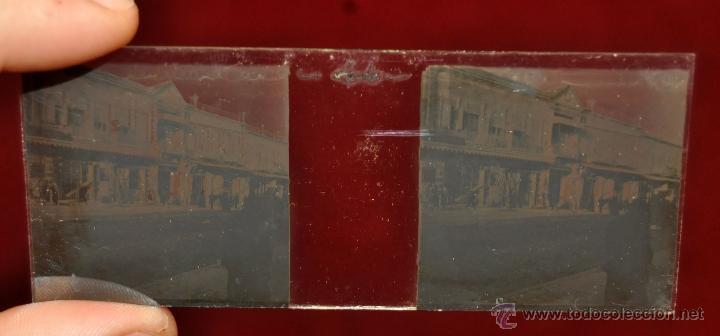 Fotografía antigua: LOTE DE 9 CAJAS CON CRISTALES ESTEREOSCÓPICOS. ALREDEDOR DE 200 CRISTALES - Foto 9 - 44052478