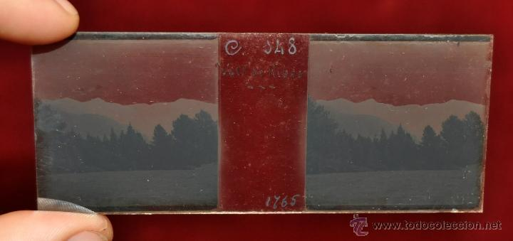 Fotografía antigua: LOTE DE 9 CAJAS CON CRISTALES ESTEREOSCÓPICOS. ALREDEDOR DE 200 CRISTALES - Foto 11 - 44052478