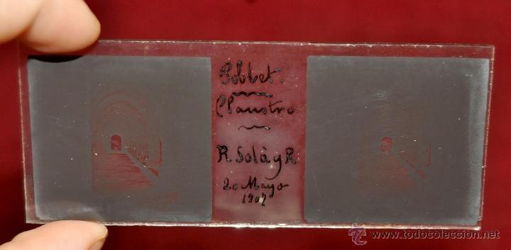 Fotografía antigua: LOTE DE 9 CAJAS CON CRISTALES ESTEREOSCÓPICOS. ALREDEDOR DE 200 CRISTALES - Foto 16 - 44052478