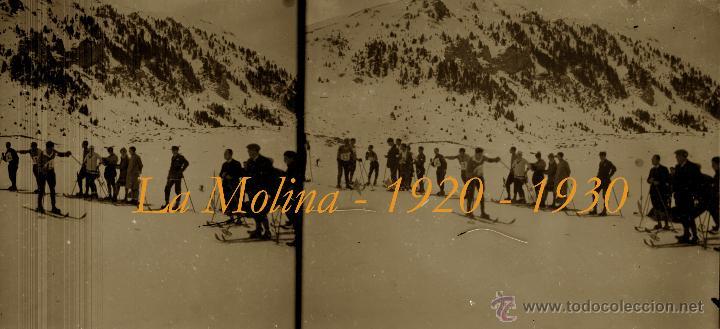 Fotografía antigua: LA MOLINA - PIRINEOS - 1920-1930 - 4 NEGATIVOS DE VIDRIO - Foto 2 - 44203842