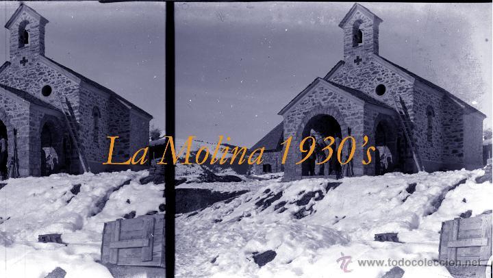 Fotografía antigua: LA MOLINA - PIRINEOS - 1920-1930 - 4 NEGATIVOS DE VIDRIO - Foto 3 - 44203842