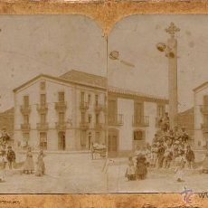 Fotografía antigua: PUIGREIG (BARCELONA).- CRUZ DE TÉRMINO.. Lote 44399186