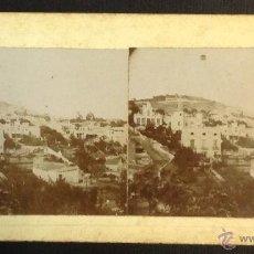 Old photograph - BARCELONA. VALLCARCA. VISTA PARCIAL. (VISTA ESTEREOSCÓPICA) - 45037848