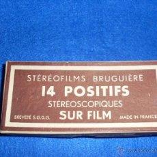 Fotografía antigua: STÉRÉOFILMS BRUGUIÈRE LE CALVAIRE.. Lote 45054731