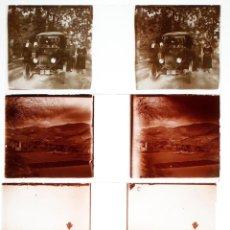 Fotografía antigua: CALDES DE MONTBUI I ST. QUIRZE, 1915'S. 7 CRISTALES POSITIVOS ESTEREO 10,4X4,3CM.. Lote 45416104