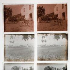 Fotografía antigua: SANTA AGNÈS DE MALANYANES, PROV. DE BARCELONA. 1915'S.9 POSITIVOS ESTEREO 6X13 CM VER FOTOS ANEXAS. Lote 45465985