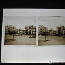 Fotografía antigua: ESTEROSCOPICA CRISTAL DE BADAJOZ ESTEROSCOPICAS ESTEROSCOPIA. Lote 46234014
