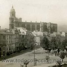 Fotografía antigua: MÁLAGA. CATEDRAL. PLAZA. C. 1900. Lote 46502559