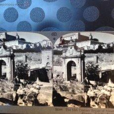 Fotografía antigua: TOLEDO. PUENTE DE ALCÁZAR. KEYSTONE VIEW. Lote 46601108