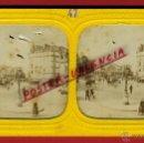 Fotografía antigua: FOTOGRAFIA ESTEREOSCOPICA, FOTO FRANCIA , PARIS , PLAZA , ILUMINDA ,ORIGINAL , A47. Lote 46626865