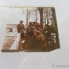 Fotografía antigua: FOTOGRAFIA ESTEREOSCOPÌCAS ESTEREO EN CRISTAL PRINCIPIOS SIGLO XX TIRO PICHON O CONCURSO HIPICO. Lote 47002513