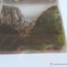 Fotografía antigua: FOTOGRAFIA ESTEREOSCOPÌCAS ESTEREO EN CRISTAL PRINCIPIOS SIGLO XX VISTA DE MONTSERRAT. Lote 47002598