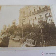 Fotografía antigua: FOTOGRAFIA ESTEREOSCOPICA ESTEREO EN CRISTAL PRINCIPIOS DEL SIGLO XX PLAZA CALLE ZONA BARCELONA. Lote 47326419