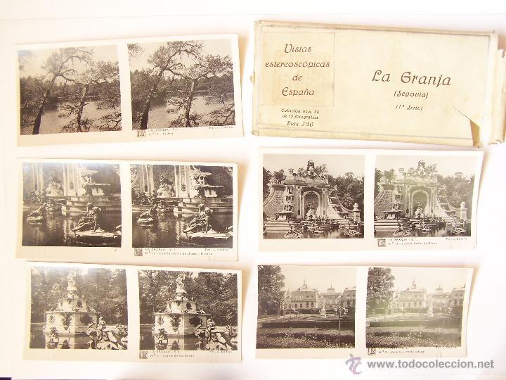 ESTUCHE 26 CON 15 VISTAS ESTEROSCÓPICAS GERONA. 1ª SERIE. J. CODINA.. 1925 (Fotografía Antigua - Estereoscópicas)