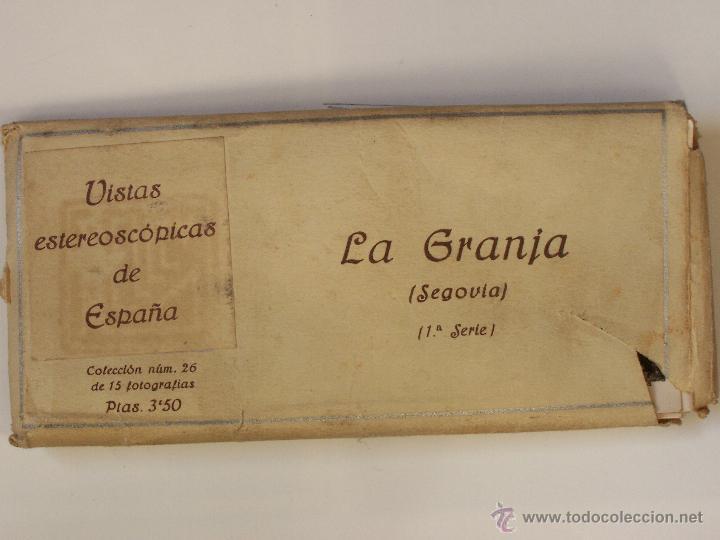 Fotografía antigua: Estuche 26 con 15 vistas esteroscópicas Gerona. 1ª serie. J. Codina.. 1925 - Foto 2 - 47332500